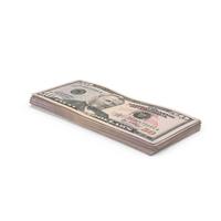 US 50 Dollar Bill Object