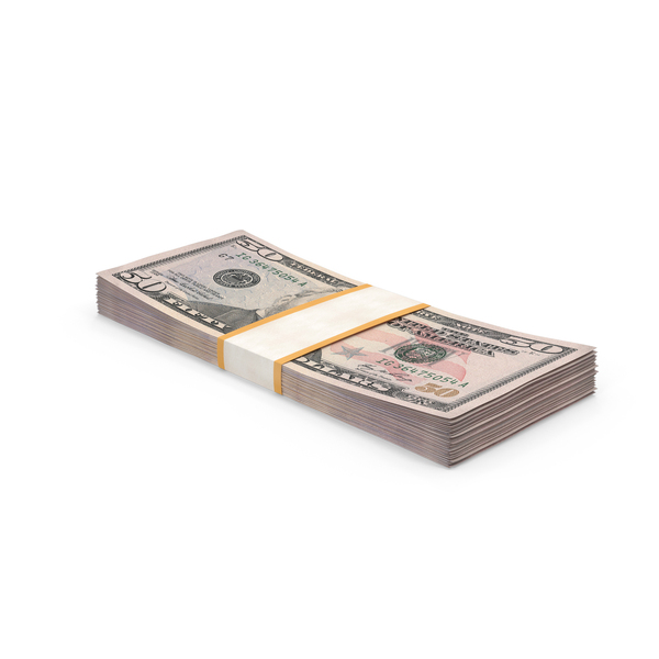 50 Dollar Bill Pack PNG & PSD Images