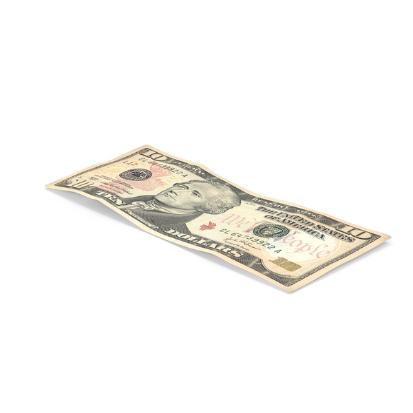 $10 bill PNG & PSD Images