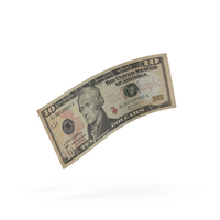 10 Dollar Bill PNG & PSD Images