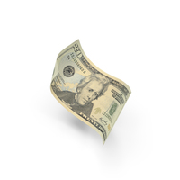 US 20 Dollar Bill PNG & PSD Images