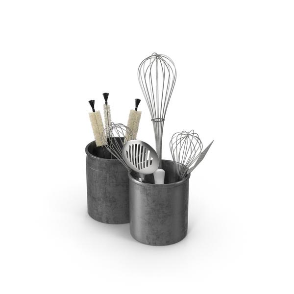 Kitchen Utensils In Holders Png Images Psds For Download