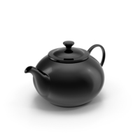 Black Teapot PNG & PSD Images