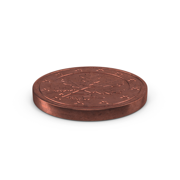 5 Cent Euro Coin PNG & PSD Images