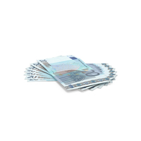 20 Euro Bill PNG & PSD Images