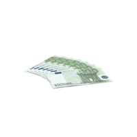 100 Euro Bill Object