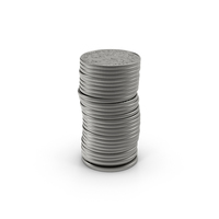 US Dime Stack PNG & PSD Images