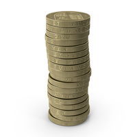 British Pound Coin PNG & PSD Images