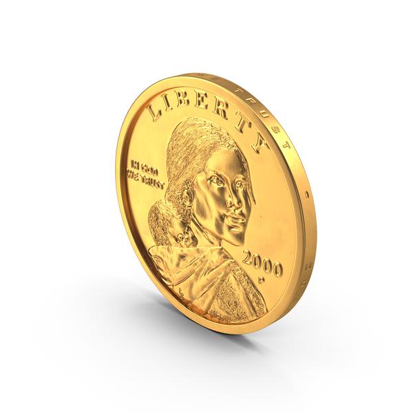 US Sacagawea Dollar PNG & PSD Images
