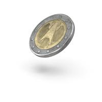 2 Euro Coin Flip Object