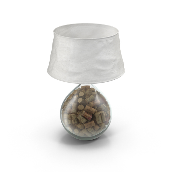 Lamp Filled With Cork PNG & PSD Images