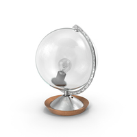 Glass Globe Lamp PNG & PSD Images