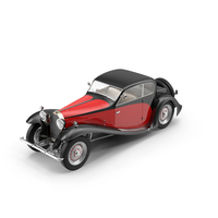 1933 Bugatti Type 50 PNG & PSD Images