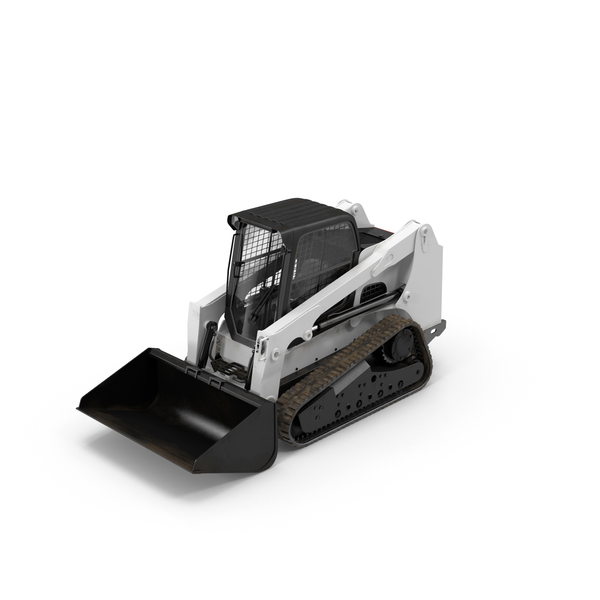 Compact Tracked Front Loader PNG & PSD Images