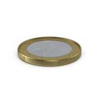 1 Euro Coin PNG & PSD Images