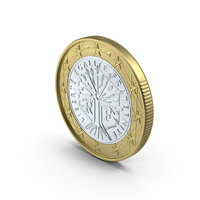 1 Euro Coin Object