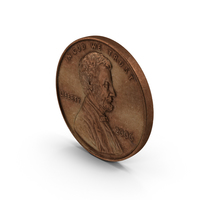 US Penny Aged PNG & PSD Images