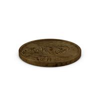 US Sacagawea Dollar Aged Object