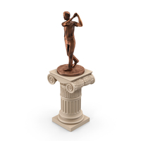 Golf Statue PNG & PSD Images