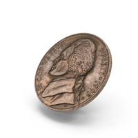US Nickel Aged Object