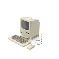 Apple Macintosh 128k PNG & PSD Images
