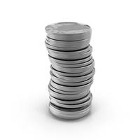 US Half-Dollar Stack PNG & PSD Images