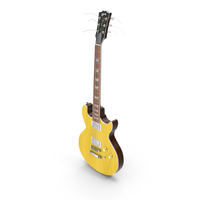 Gibson Les Paul Double Cutaway Electric Guitar PNG & PSD Images