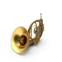 French Horn PNG & PSD Images