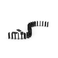 Wooden Ebony Dominoes PNG & PSD Images