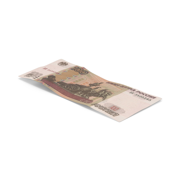 100 Ruble Note PNG & PSD Images