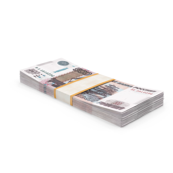 500 Ruble Note PNG & PSD Images