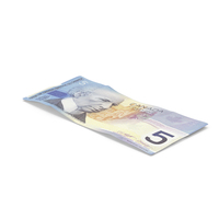 5 Canadian Dollar Note PNG & PSD Images
