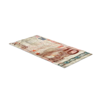 10 Euro Bill Distressed PNG & PSD Images