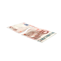 10 Euro Bill Torn PNG & PSD Images