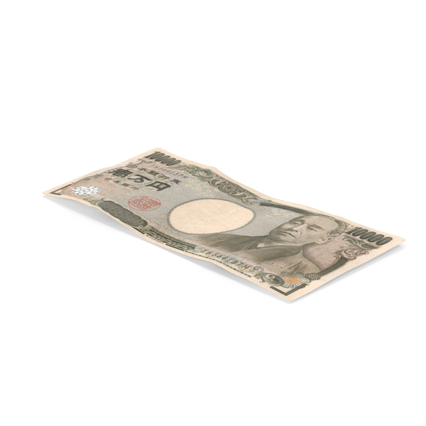 10000 Yen Note PNG & PSD Images