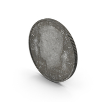 US Half-Dollar Aged PNG & PSD Images