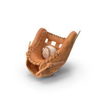 Baseball Glove and Baseball PNG & PSD Images