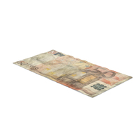 50 Euro Bill Distressed PNG & PSD Images