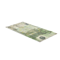 100 Euro Bill Distressed PNG & PSD Images