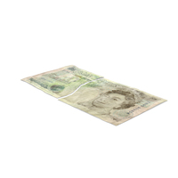 5 Pound Note Torn PNG & PSD Images