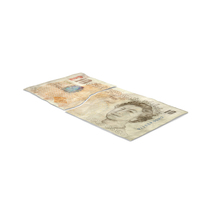 10 Pound Note Torn PNG & PSD Images