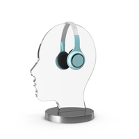 Headphone Display PNG & PSD Images