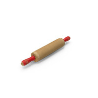Vintage Wooden Rolling Pin PNG & PSD Images