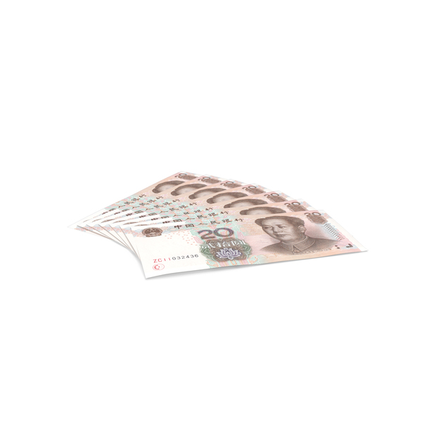 20 Yuan Note PNG & PSD Images