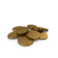 20 Cent Euro Coin German Aged PNG & PSD Images