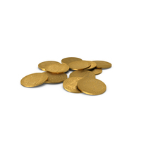 Gold Doubloon PNG & PSD Images