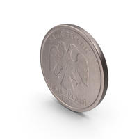 5 Ruble Coin PNG & PSD Images