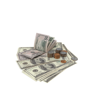 US Coins and Bills PNG & PSD Images