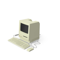 Apple Desktop Computer Classic II PNG & PSD Images