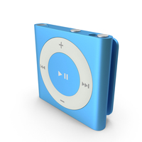 iPod Shuffle Blue PNG & PSD Images